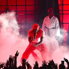 Rapper Kendrick Lamar wins six awards at the MTV VMAs
