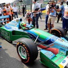 Michael Schumacher's son eyes F1 career after Belgian Grand Prix demo drive
