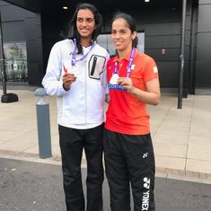May be she has other ideas: Saina stumped by Sindhu's 'pick and choose' solution for tight schedule