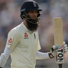 Ashes: England's Moeen Ali to take 'short break' from cricket after being dropped for second Test