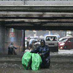 Videos: Views of Mumbai submerged under relentless rain and waterlogged streets