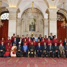 Devendra Jhajharia and Sardar Singh honoured with Khel Ratna Award