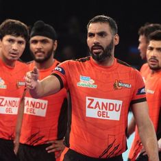 Anup Kumar helps U Mumba end home drought, beat Haryana Steelers 38-32