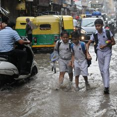 Delhi records highest rainfall of the season; traffic jams, water logging reported in many areas