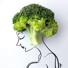 A croissant Ganesh, a stapler dinosaur and broccoli as hair: This artist will turn anything into art
