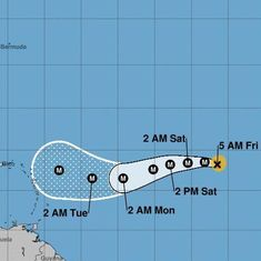 Another hurricane is heading to US territory: Irma is expected to hit the Caribbean mid next week