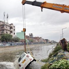 Delhi: Two die in Ghazipur landfill collapse, four vehicles fall into nearby Kondli Canal