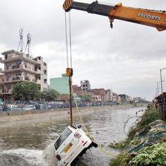 दिल्ली : कूड़े का ढेर धंसने से दो लोगों की मौत, कई मलबे में फंसे