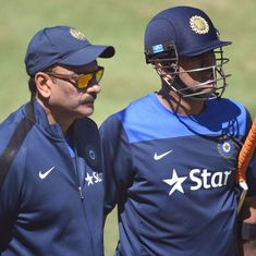 Defending Dhoni is fine, but Shastri should have spared us the 'Whataboutism'