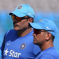 MS Dhoni may only want to play T20 cricket: Ravi Shastri hints at former captain's ODI retirement
