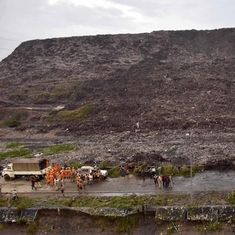 Day after Ghazipur landfill collapse, Delhi LG Anil Baijal prohibits garbage dumping at site