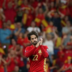 Isco, Alvaro Morata power Spain to 3-0 win over Italy in World Cup qualifier