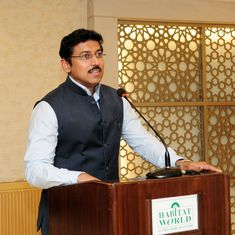 Sports Minister Rajyavardhan Rathore calls on private companies to adopt five stadiums in Delhi