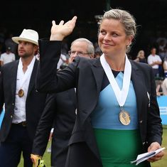 'I am most fortunate that my dreams have come true', says former Major champion Kim Clijsters