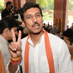 Will provide best of opportunities to sportspersons, says new sports minister  Rajyavardhan Rathore