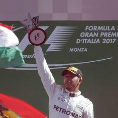 Lewis Hamilton wins Italian Grand Prix, takes championship lead from Sebastian Vettel