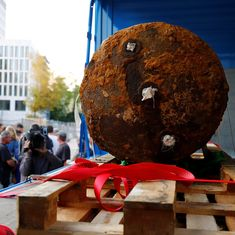 Germany defuses World War II bomb in Frankfurt after evacuating 60,000 people