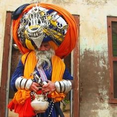 Meet the man from Patiala who claims to have the biggest turban in the world