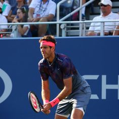 Tennis: Juan Martin del Potro pulls out of Queen's second round due to a knee injury