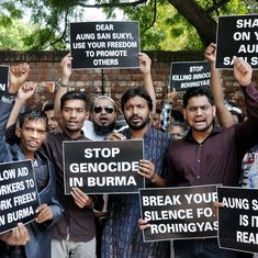 'Stop genocide': Amid news of crackdown, Rohingya refugees in Delhi worry about families in Myanmar