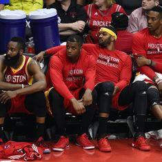 Houston Rockets sold for a record $2.2 billion, the highest amount ever paid for an NBA franchise