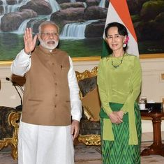 Together, we will ensure terror doesn't take root in our countries, Aung San Suu Kyi tells Modi