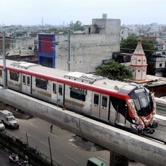 Lucknow Metro service comes to a halt on its debut run, passengers evacuated