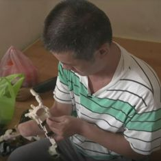 Watch: This man lost his own hand in an accident. Now he makes prosthetic limbs for others