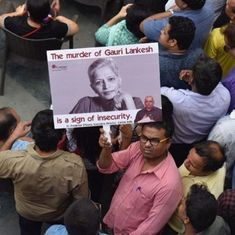 BJP leaders condemn Gauri Lankesh murder and blame Congress – but many Right-Wingers are gleeful