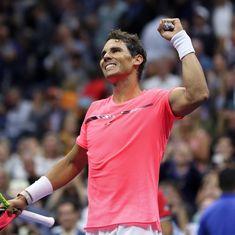 Rafael Nadal schools Andrey Rublev to reach US Open semi-finals