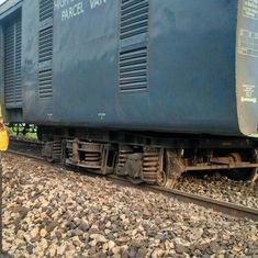 नए रेल मंत्री का भी रेल हादसे से स्वागत, शक्तिपुंज एक्सप्रेस के सात डिब्बे पटरी से उतरे