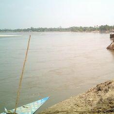 अरुणाचल प्रदेश : ब्रह्मपुत्र का पानी काला पड़ा, अधिकारियों ने चीन पर शक जताया