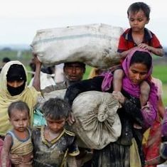 Bangladesh razes over 20 boats carrying refugees from Myanmar