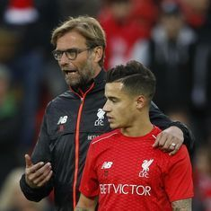 Coutinho left out of Liverpool's squad for Manchester City game after agreement with Klopp