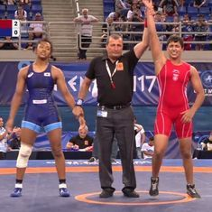 India's Anshu wins gold in Cadet World Wrestling Championships