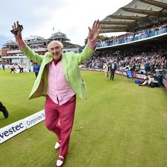 Farewell, 'my dear old thing': Henry Blofeld bows out after 45 years with Test Match Special