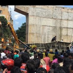 At least one dead, 11 injured as under-construction railway flyover collapses in Bhubaneshwar