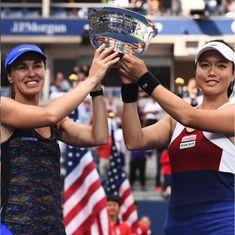 Martina Hingis wins US Open women's and mixed doubles to take Grand Slam tally to 25