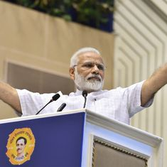 First toilets, then temples, Modi tells students on 125th anniversary of Swami Vivekananda's speech