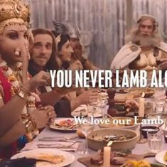 India lodges diplomatic protest with Australia over advertisement that shows Ganesha eating meat
