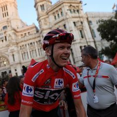 Chris Froome completes historic Tour de France-Vuelta a Espana double