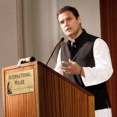Not everyone in the Congress is sold on Rahul Gandhi's trip to the US. Here's why