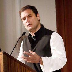 बेटी बचाओ-बेटी पढ़ाओ लेकिन हक मांगें तो पिटाई करो, यही भाजपा की सोच है : राहुल गांधी
