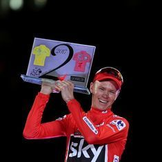 'Raised in Africa, resident in Monaco': British media welcomes Froome's double with little fanfare