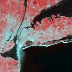 In photos: Nasa shares images of 9/11 attack captured from space