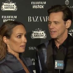 Watch: Jim Carrey went on a curious, existential rant at a fashion show (or was he pranking us?)