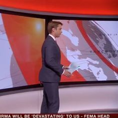 Watch: BBC World News presenter has an awkward opening, and people love it
