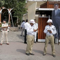 Security tightened in Ahmedabad ahead of Japanese Prime Minister Shinzo Abe's visit
