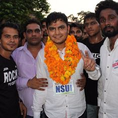 DU students' union election: NSUI wins president and vice president posts, ABVP gets two seats