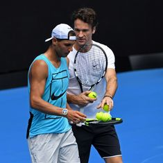 Australian Open: Rafael Nadal's coach Carlos Moya to miss tournament due to travel restrictions